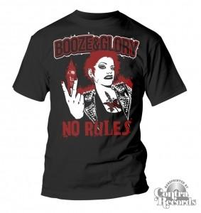Booze & Glory - No Rules - T-Shirt black
