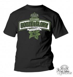 Booze & Glory - Chapter IV Peppermint - T-Shirt black-S (last size!)