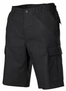 Army Shorts - Black (US-BDU Ripstop)