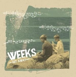 """Weeks - Get Away 7""""EP lim.300 solid Black"""