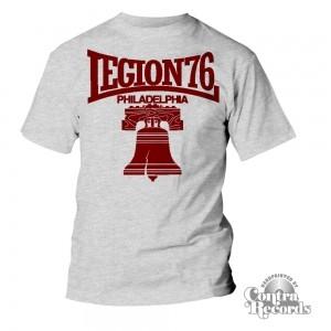 Legion 76 - Bell - T-Shirt Men Grey
