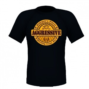 AGGRESSIVE - Ruhrpotts finest T-Shirt Black