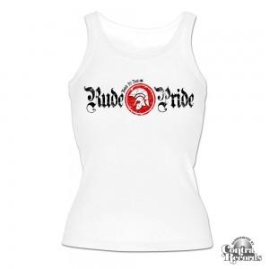 Rude Pride - Classic - Girl Tanktop White