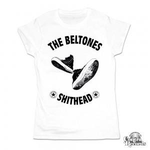 Beltones,The - Shithead - Girl Shirt White