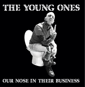 """Young Ones,The - Our Nose In Their Business 7""""EP lim. 400 Black"""