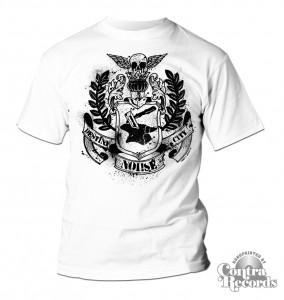 Noi!se - coat of arms T-Shirt White