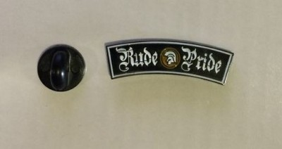 Rude Pride - lettering - Metal-Pin