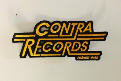 Patch - Contra Records - Rebels Rule Yellow lim. edt