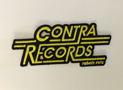 Patch - Contra Records - Rebels Rule lighter Yellow lim. edt