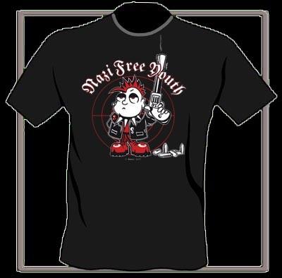 N.F.Y. Mordy Fearless - T-Shirt-S Last Size!!!