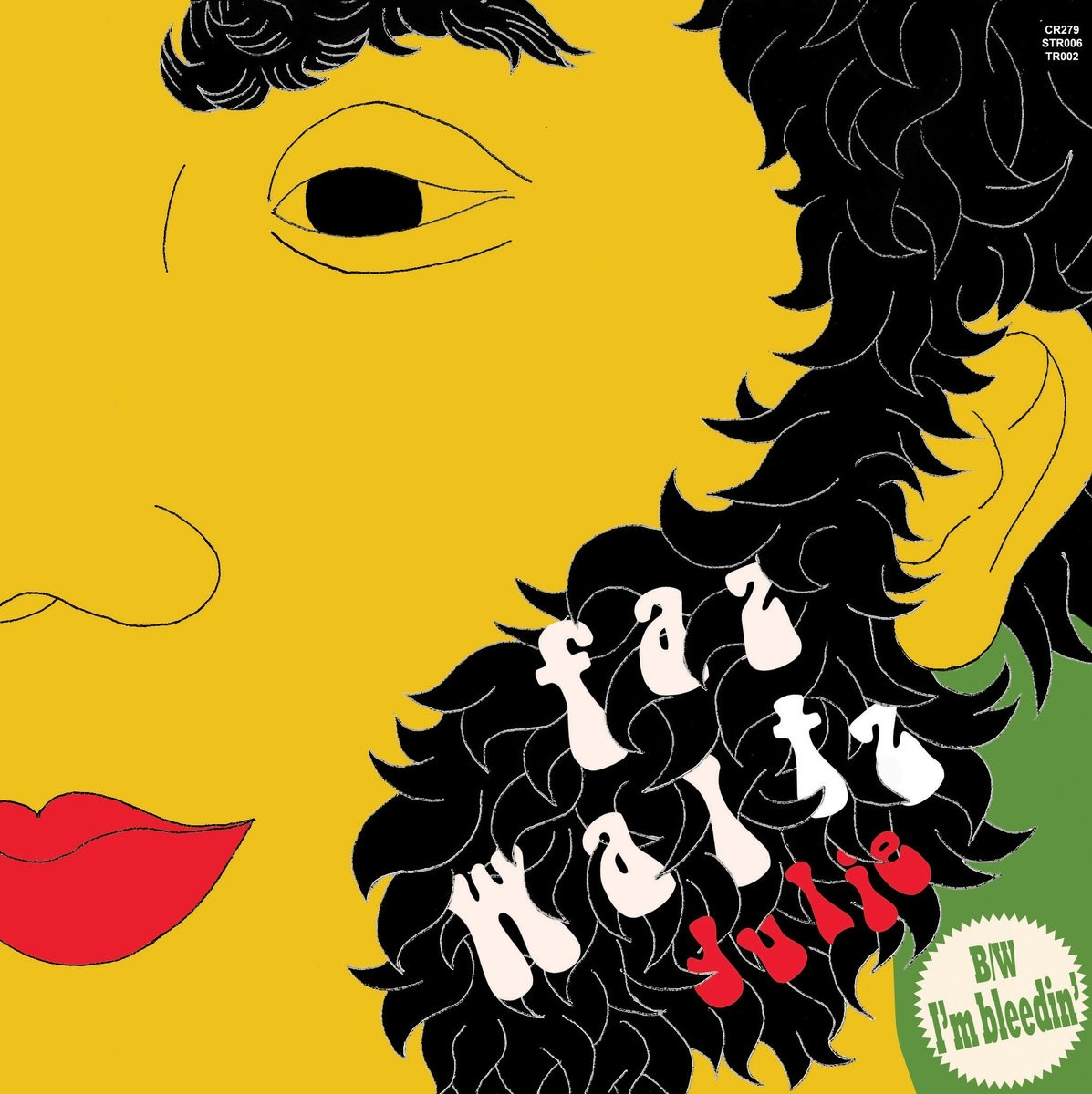 "Faz Waltz - Julie / I'm Bleedin 7""EP incl.download lim. 100 red"