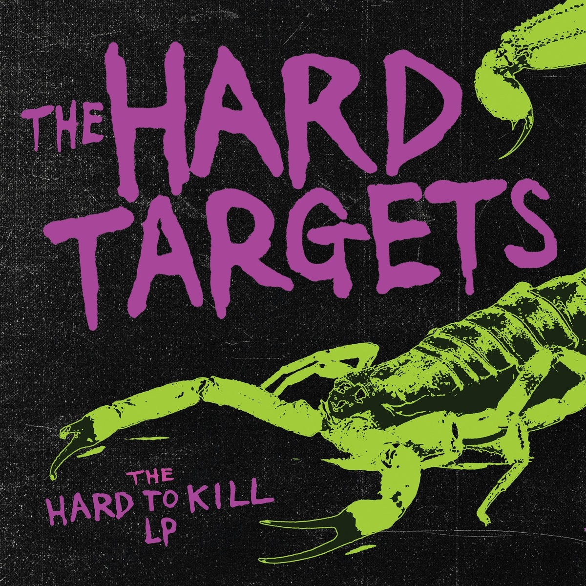 "Hard Targets ‎- The Hard To Kill 12""LP lim.300 black"