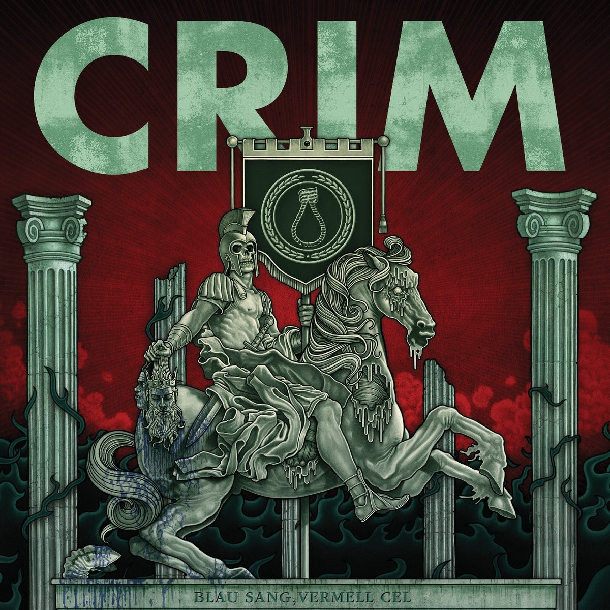 "CRIM - ""Blau sang,Vermell cel"" 12""LP incl. download"