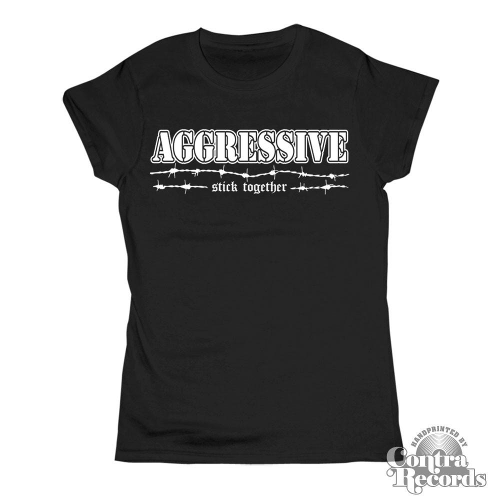 AGGRESSIVE - Stick Together Girl Shirt