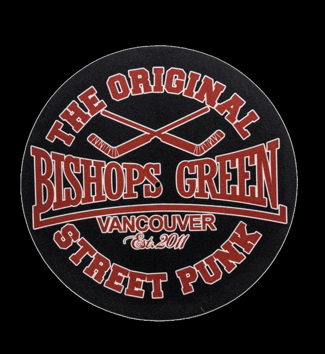 "Bishops Green - Hockey - 12"" Slipmat"