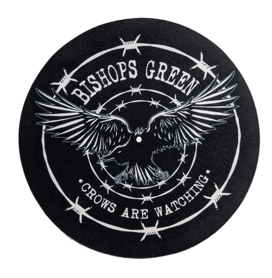 """Bishops Green - Crow - 12"""" Slipmat"""