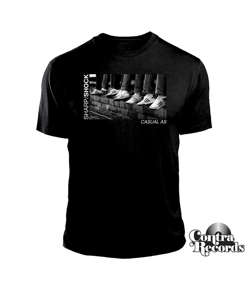 "Sharp Shock - ""Casual AS"" - T-Shirt black"