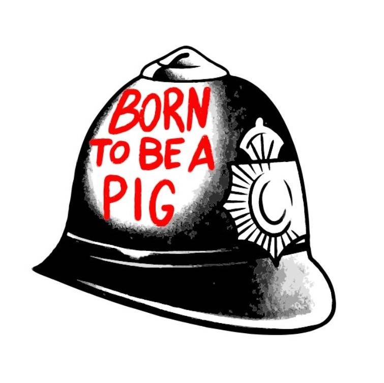 Born To Be A Pig - Sticker