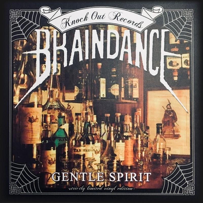 Braindance - gentle Spirit- 7''EP  KNOCK OUT EDITION (handnumbered lim. 44 pcs)
