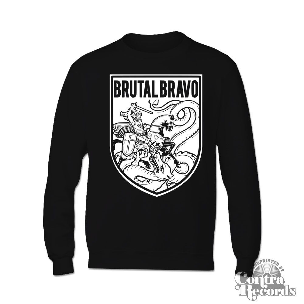 Brutal Bravo - Sweater Black