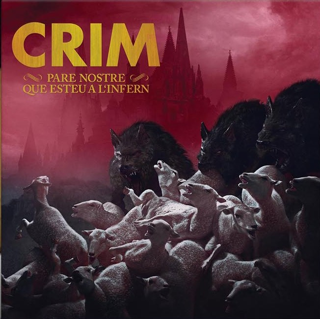 "Crim - ""Pare Nostre Que Esteu a l'Infern"" 12""GF-LP Gold Cover version (different vinylcolors)"