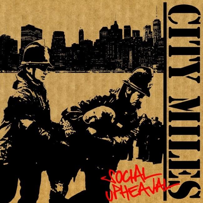 City Miles - Social Upheaval CD