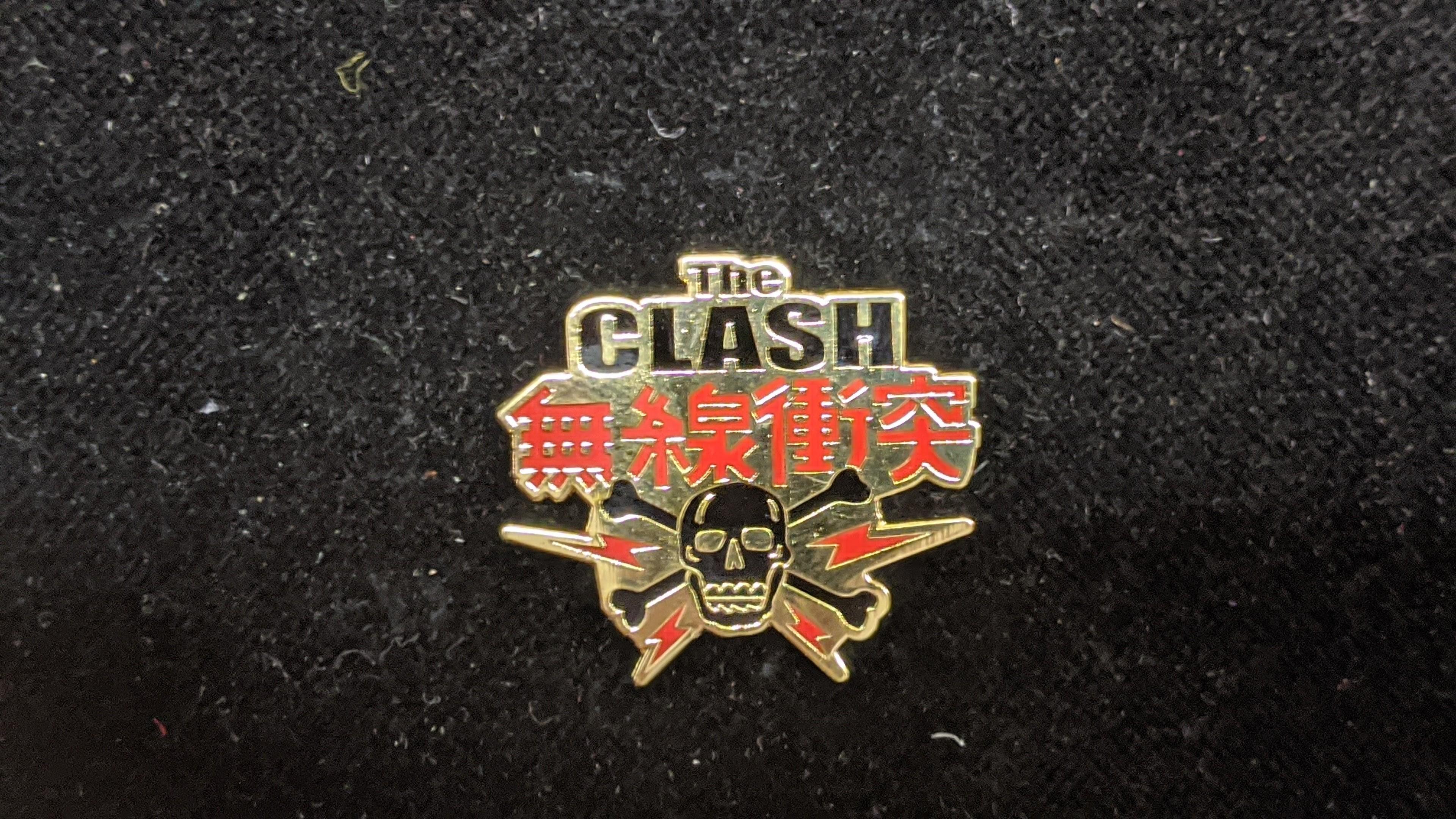 The Clash - Metal-Pin