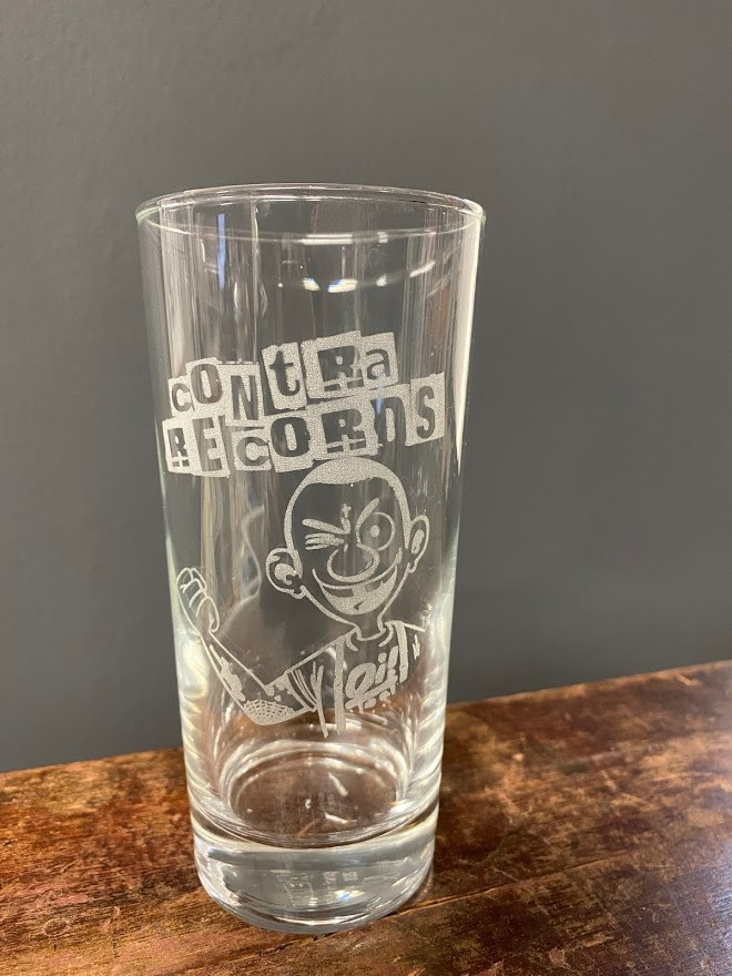Contra Records - Oi! - Drinking Glass