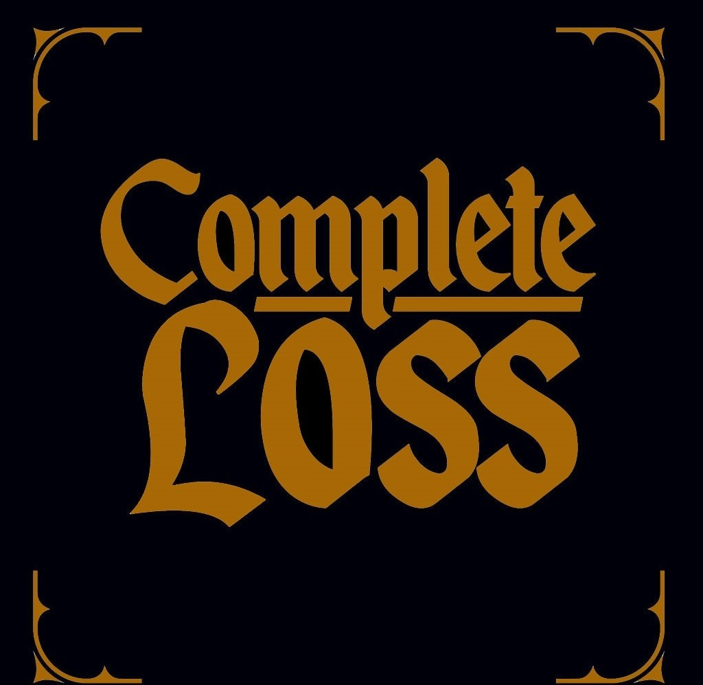 """Complete Loss - Demo 7""""EP lim. 50 Gold on Black screenprinted Cover"""