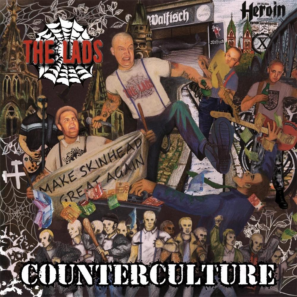 """The Lads - Counterculture 12""""LP lim.300 black"""