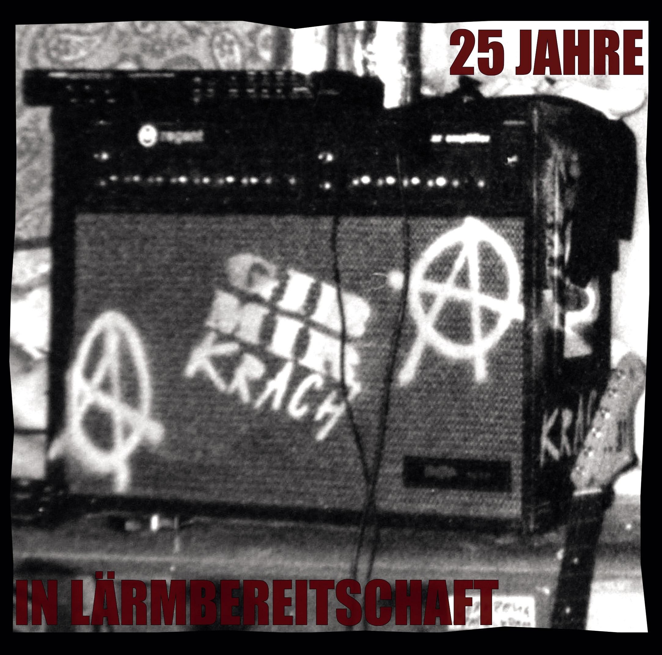 """V/A Telekoma /Bockwurschtbude - """"25Jahre in Lärmbereitschaft"""" - 7""""EP im Klappcover!"""