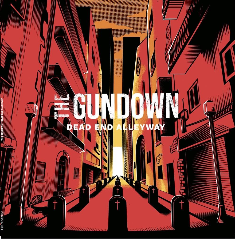 """Gundown,The - """"Dead End Alleyway"""" 12""""LP lim.200 solid black"""