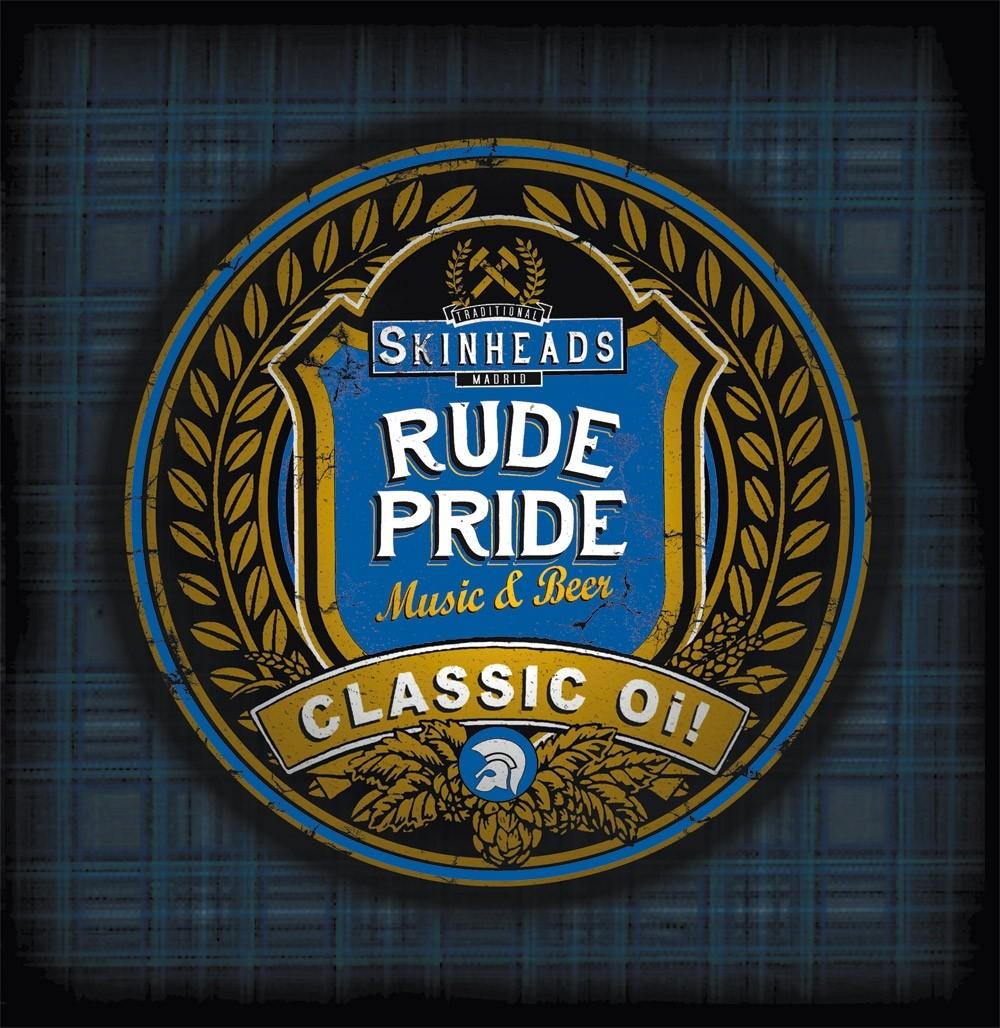 "Rude Pride - s/t 7""EP lim. 250 half´n half orange/white"