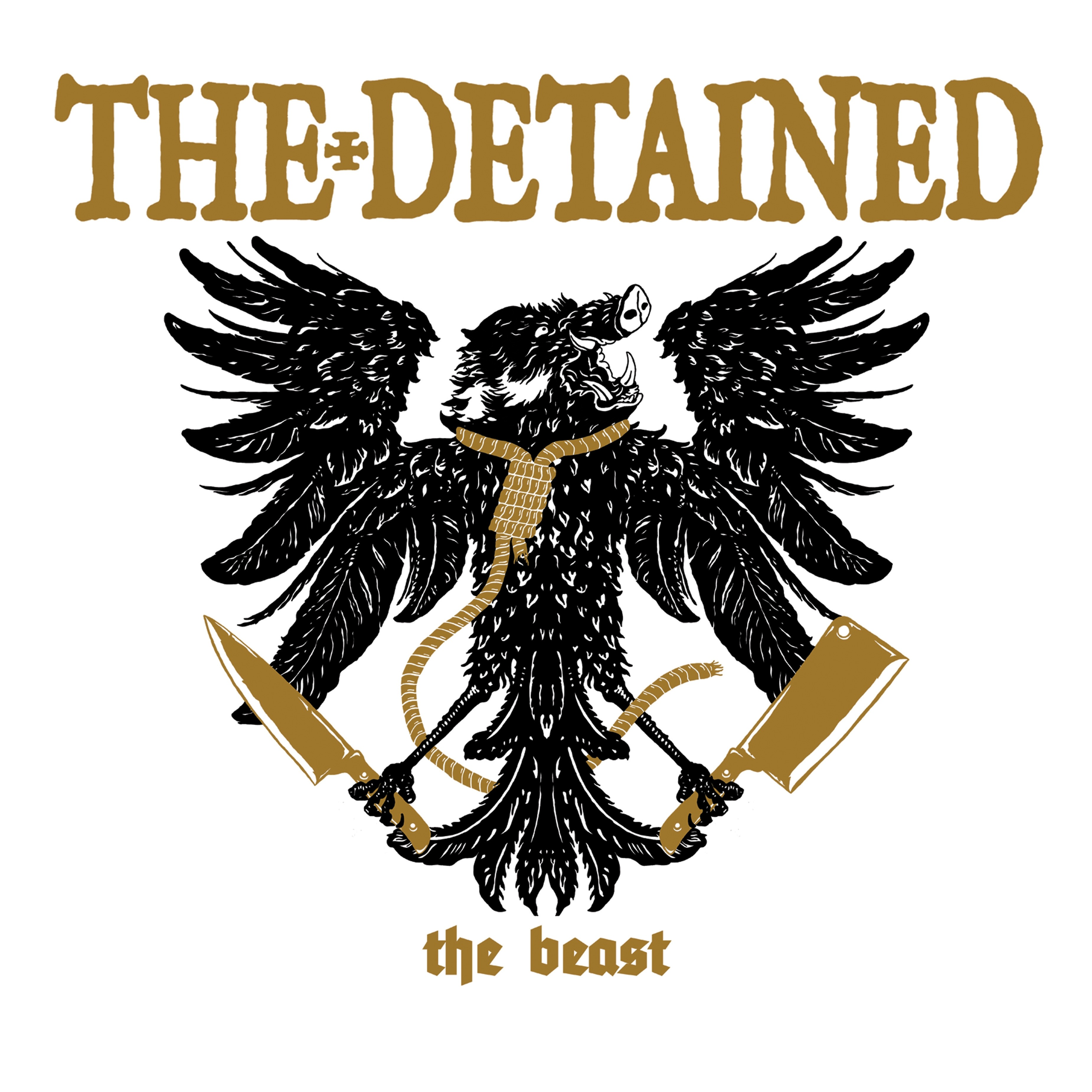 """DETAINED,THE -the beast - 12""""LP lim. 300 tri-color"""