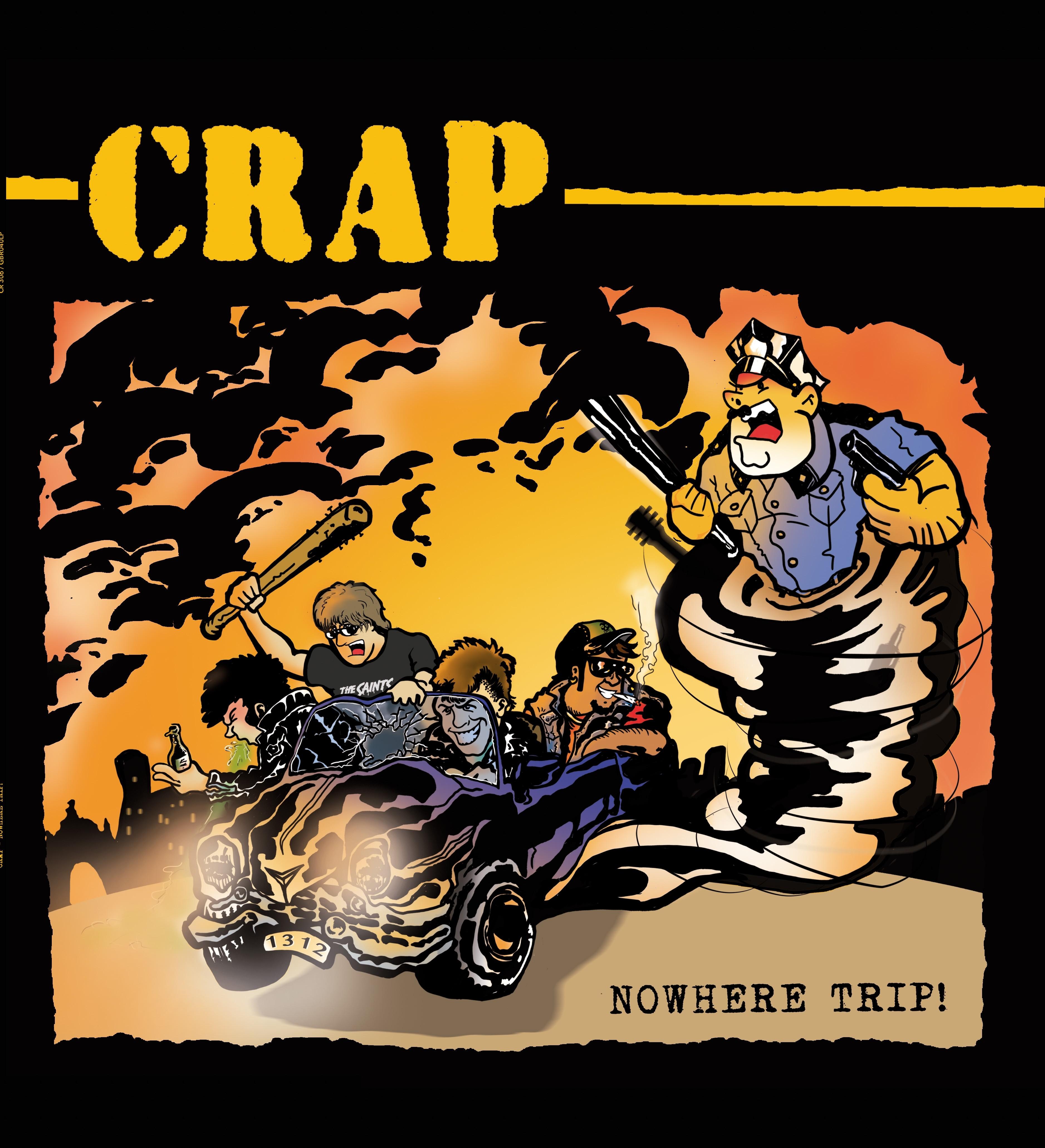"CRAP - Nowhere Trip - 12""LP lim.150Yellow (Contra Records edt.)"