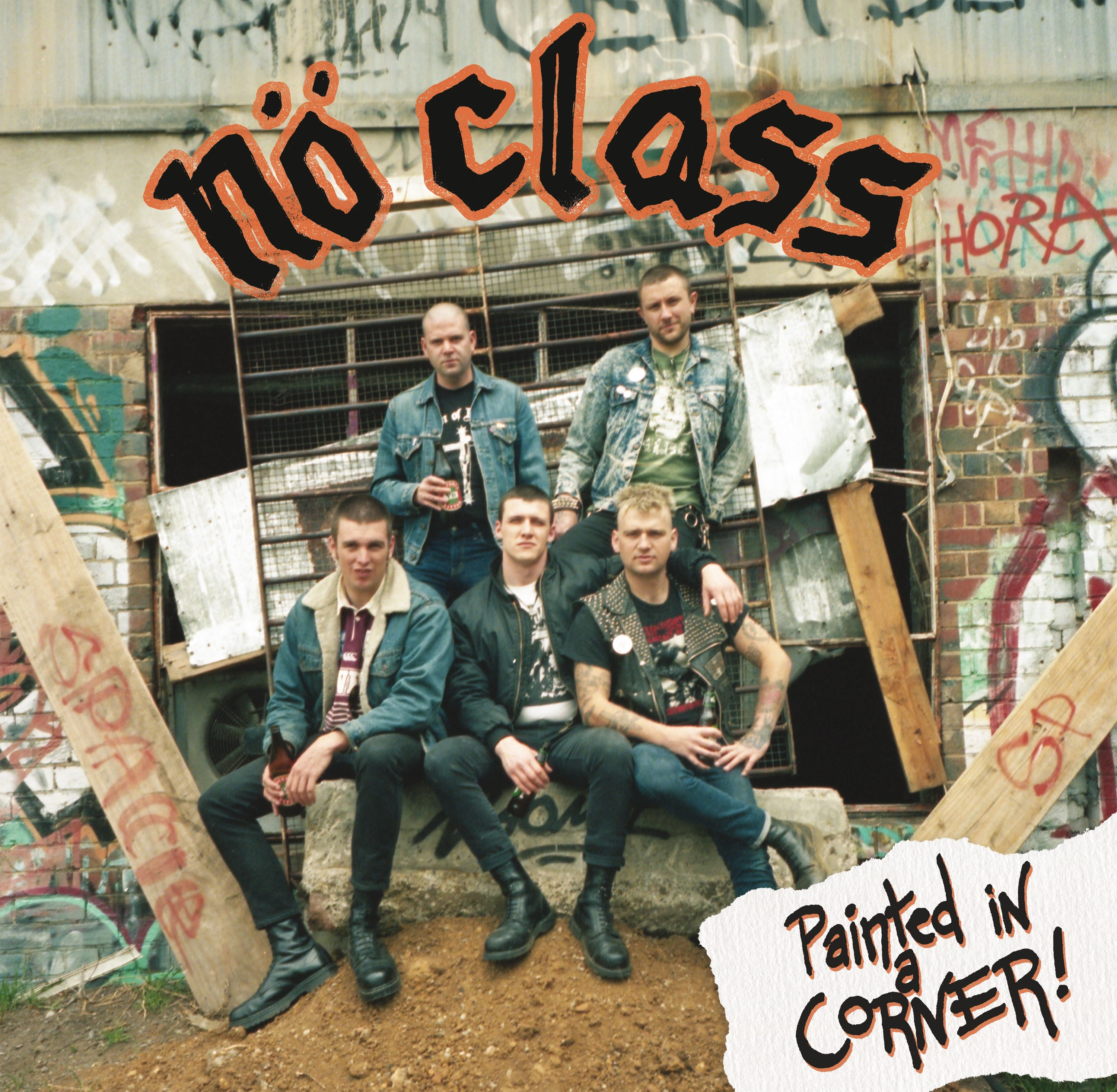 No Class - Painted in a Corner Digipack-CD