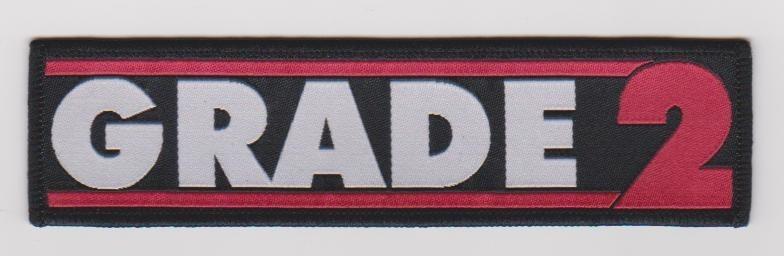 "Grade 2 ""new logo"" - Patch"