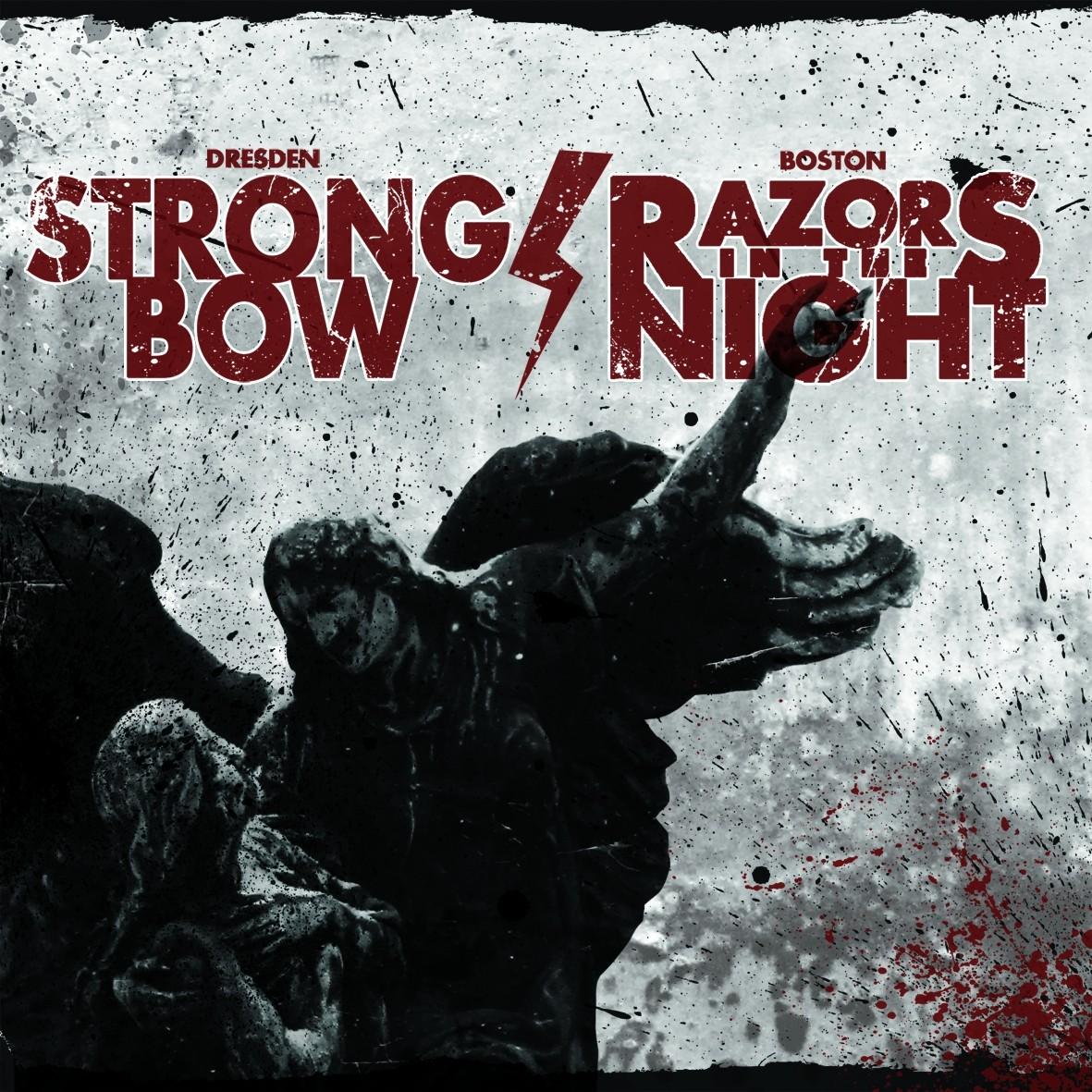 "V/A Strongbow/Razors in the Night - Split 7""EP lim. Splatter"