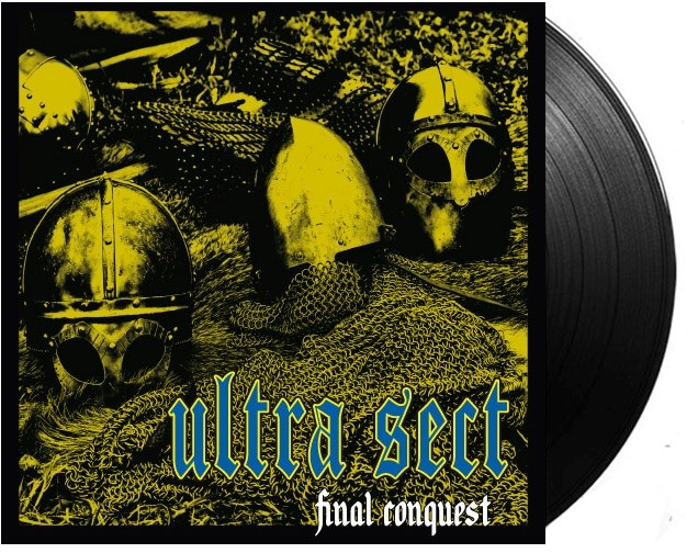 "Ultra Sect - Final Conquest 7""EP lim.50 black Contra Records edt."