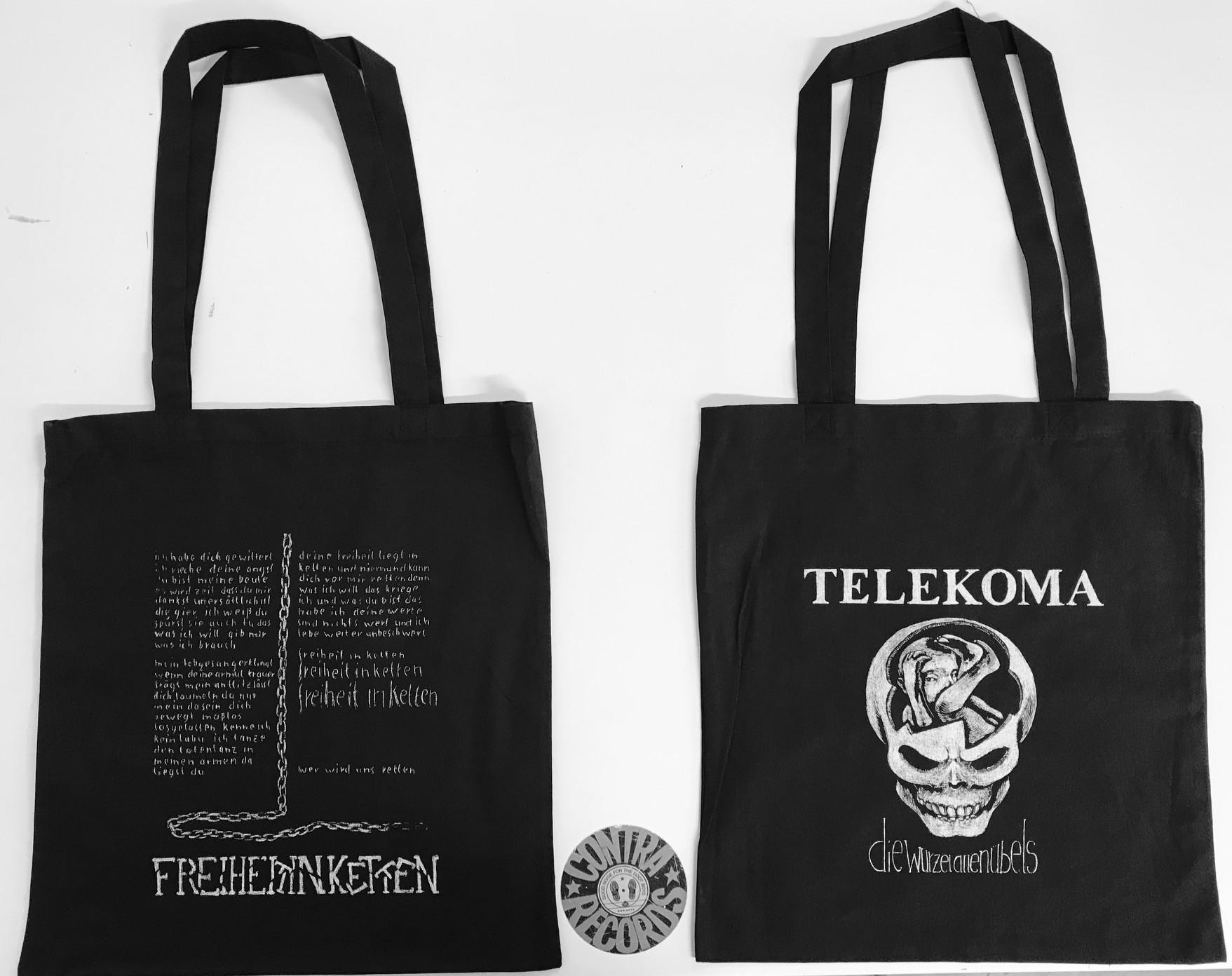 "Telekoma - Die Wurzel allen Übels Beutel - ""Freiheit In Ketten"""