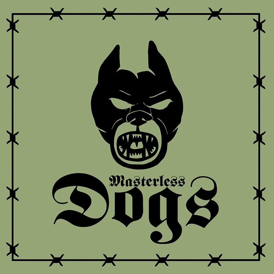 """Masterless Dogs - s/t 7""""EP lim.150 army green  (incl. Download)"""