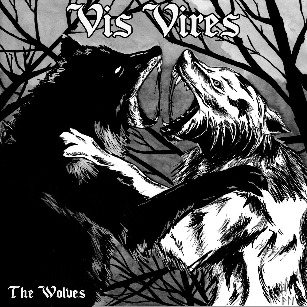 "Vis Vires - ""The Wolves"" - 7""EP lim. 400 black"