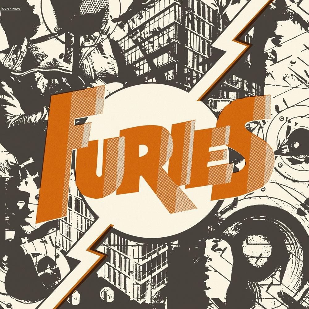"""Furies - s/t 12""""LP lim.100 orange incl.56mm Button"""