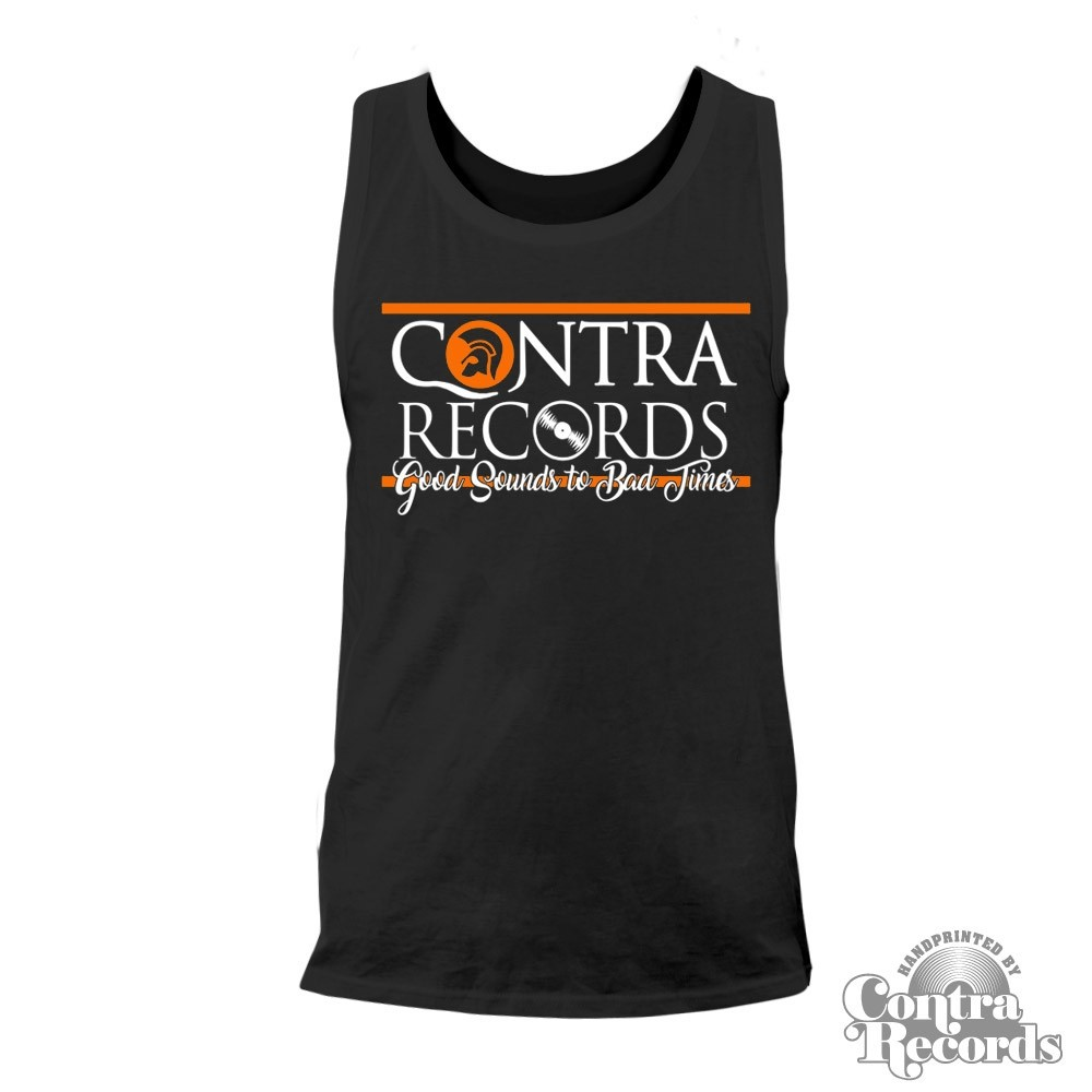 "Contra Records ""Good Sounds"" Men Tanktop black"