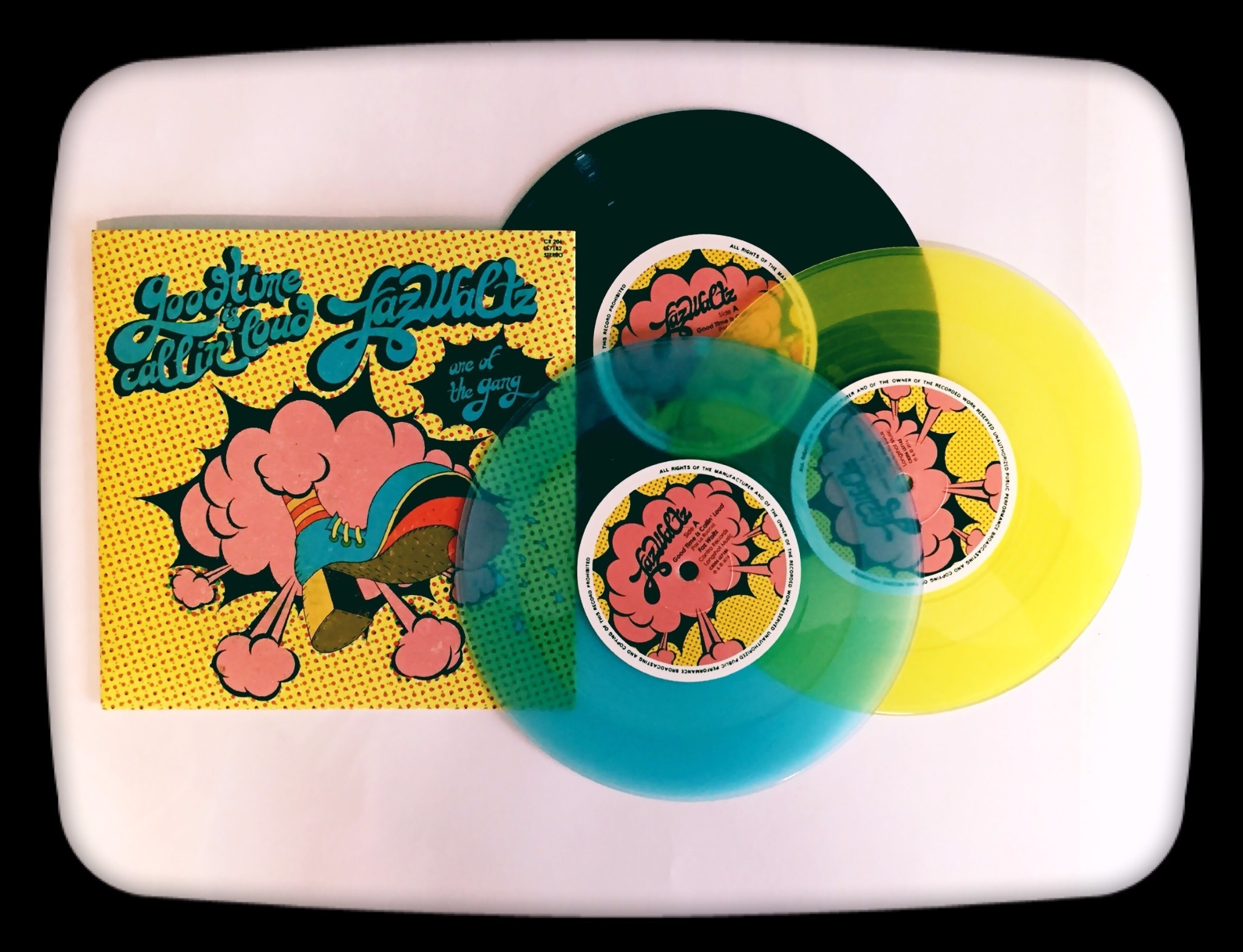 "FAZ WALTZ-Good Time is Callin' Loud 3x7""EP #package deal"