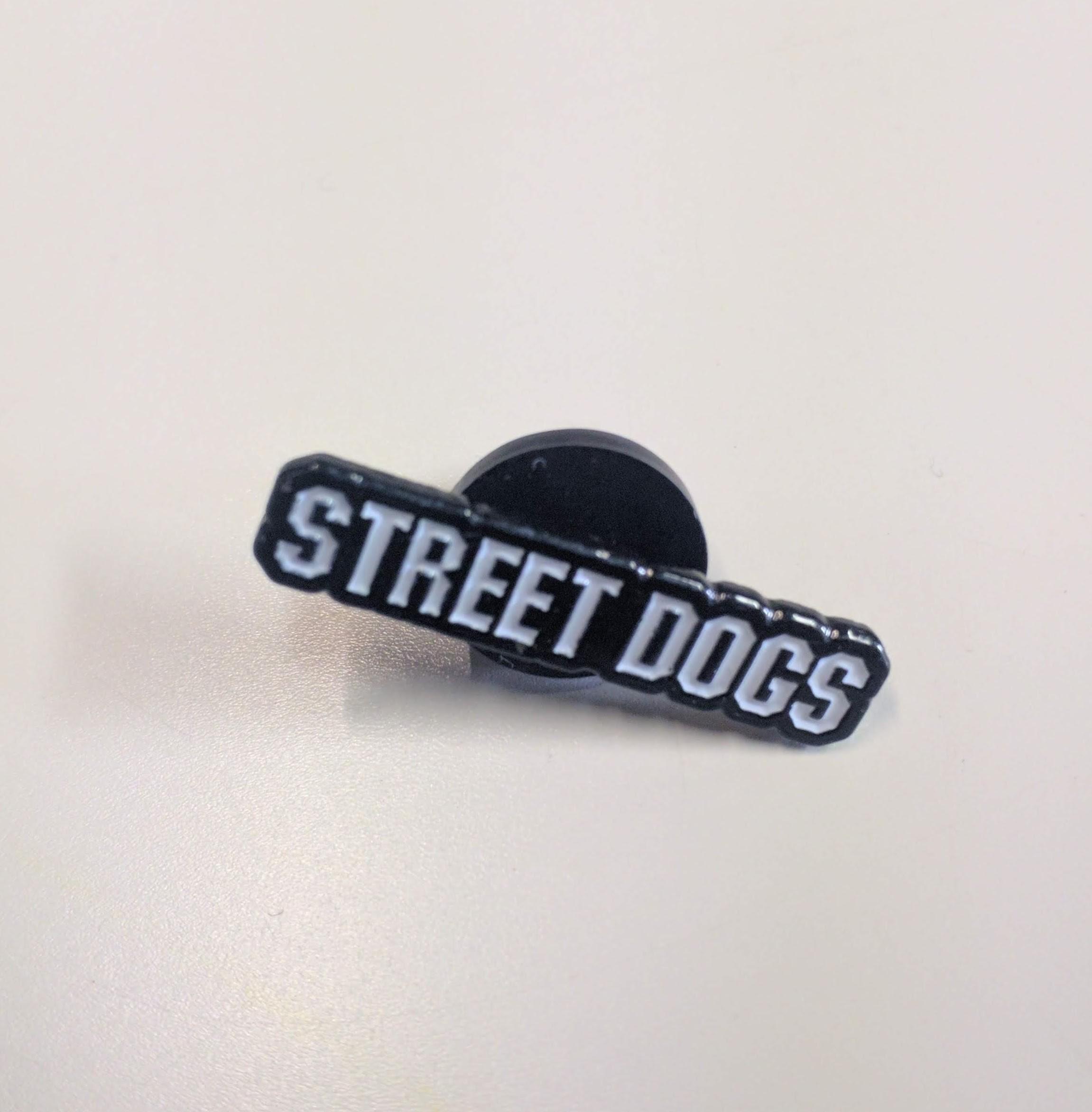 Street Dogs lettering - Metal-Pin