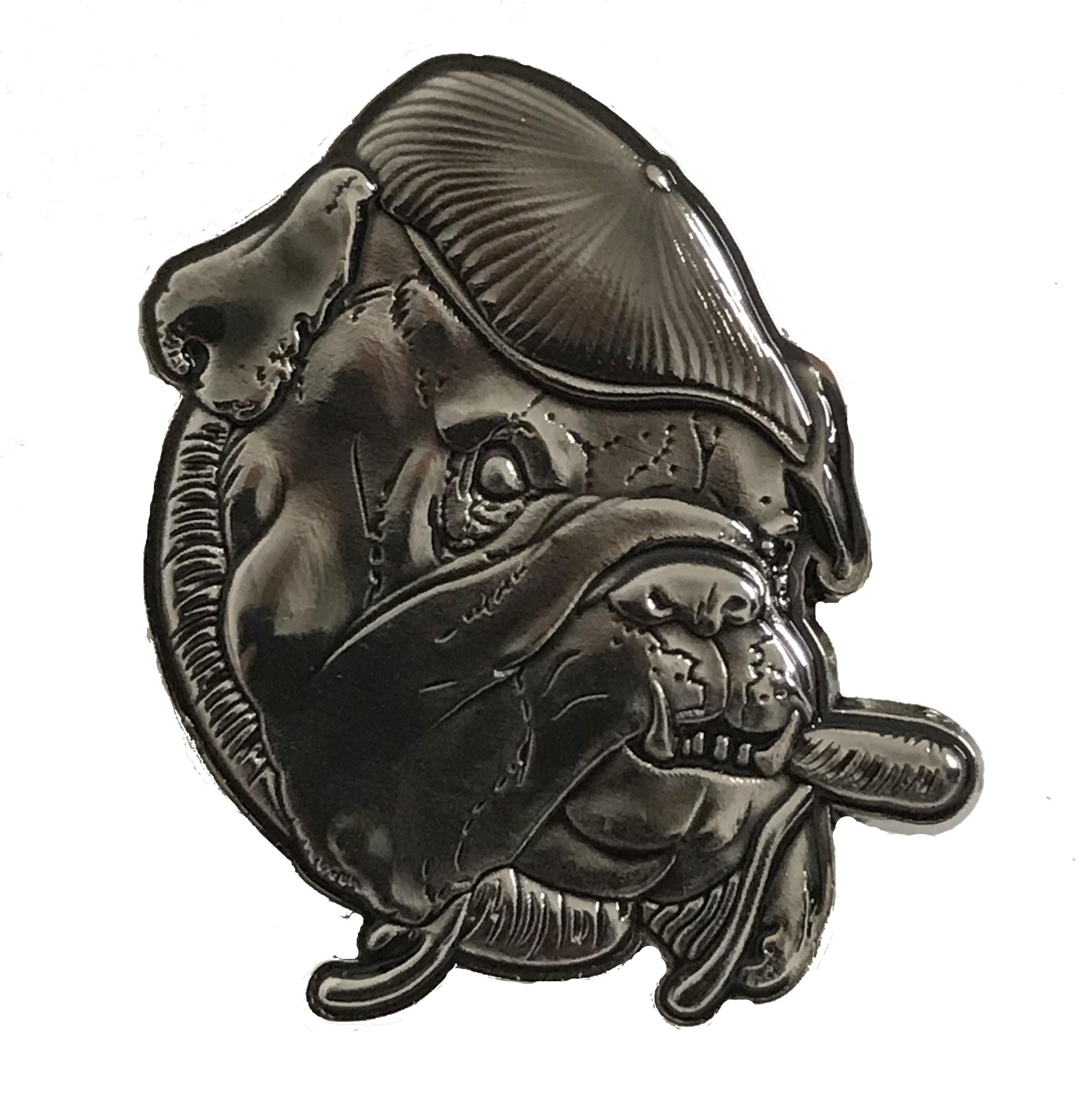 Metall-Pin - Sheer Terror