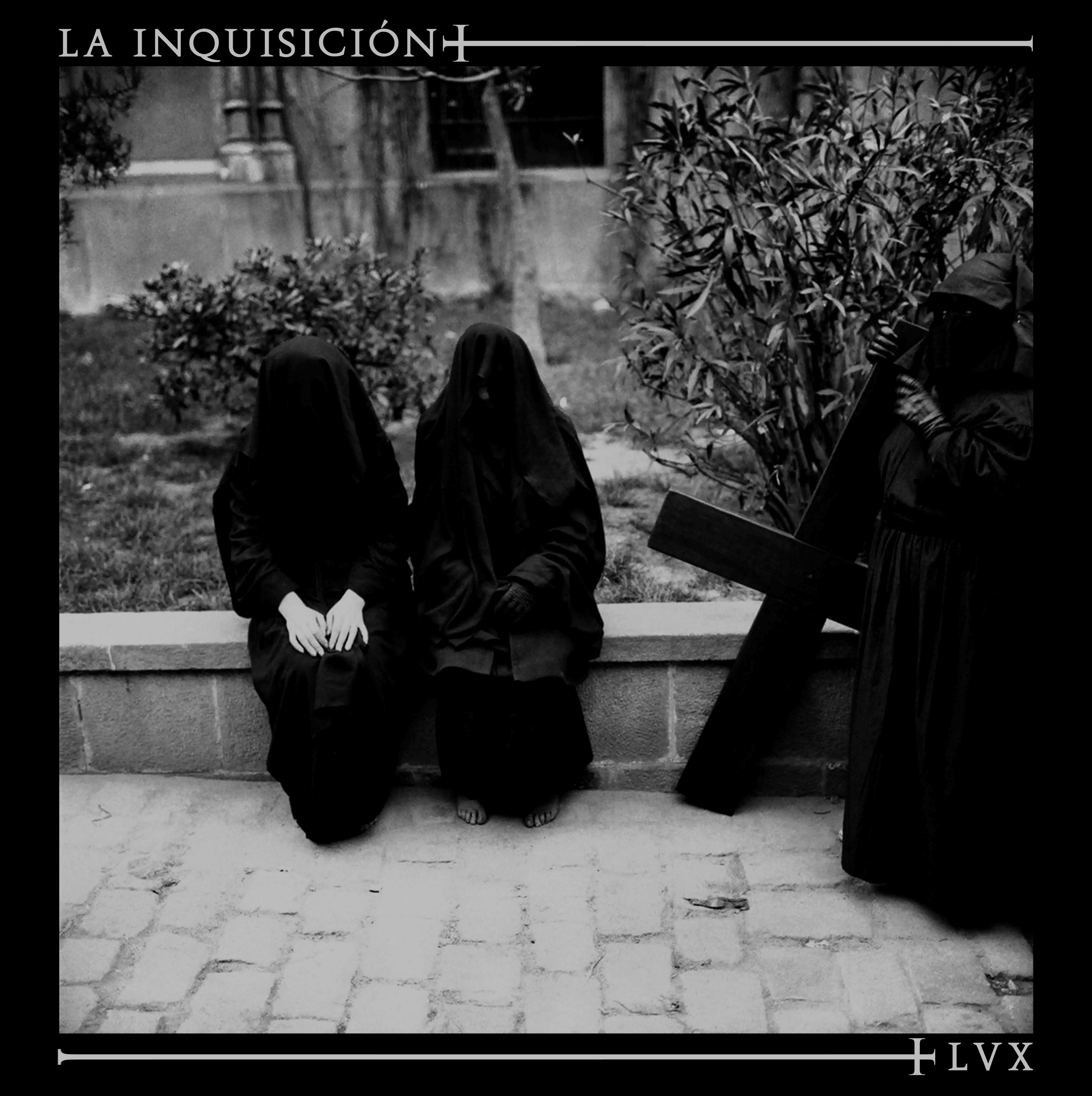 """La Inquisicion - LVX 12""""LP lim.600 black incl. download"""