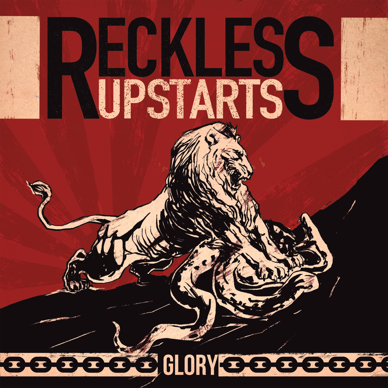 """Reckless Upstarts - Glory 7""""EP lim.125 cream white"""