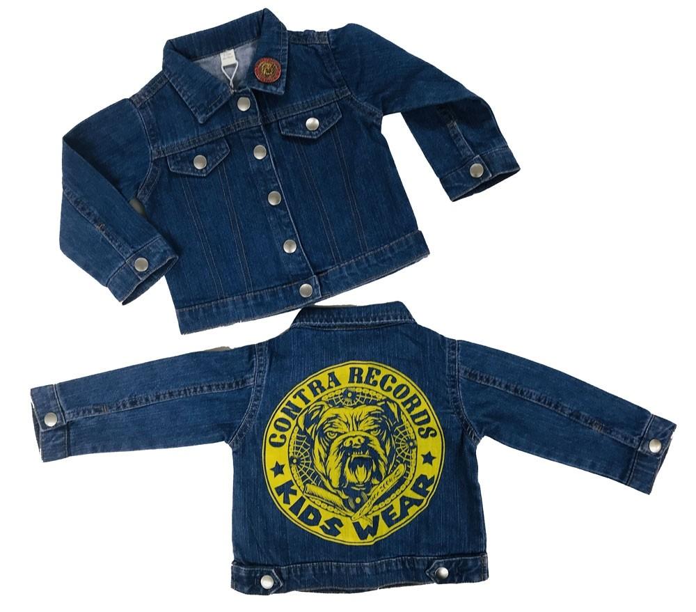 "Contra Records ""Kids Wear - Bulldog"" Kids Jeansjacket"